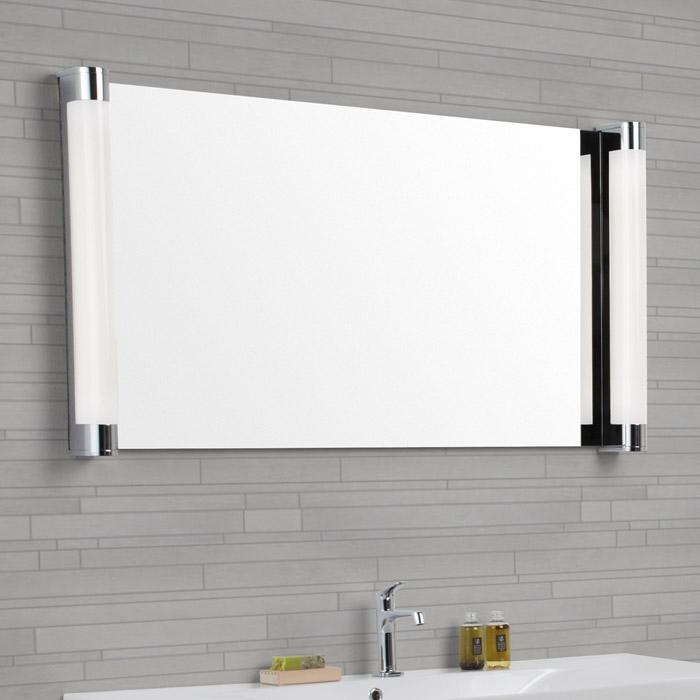 dansani luna spiegel kombinierbar mit senkrechten lichtpaneelen und. Black Bedroom Furniture Sets. Home Design Ideas