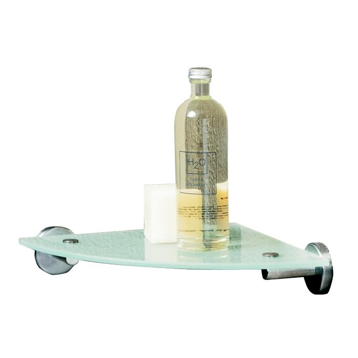 tiger boston glas eckablage edelstahl poliert. Black Bedroom Furniture Sets. Home Design Ideas