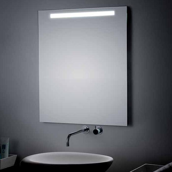 koh i noor t5 spiegel mit beleuchtung oben integriert 40cm breit. Black Bedroom Furniture Sets. Home Design Ideas