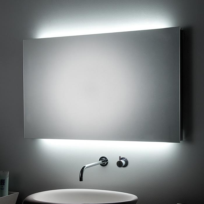 """Einzigartig Koh-I-Noor """"T5"""" Spiegel mit Raumbeleuchtung 80cm breit OD41"""