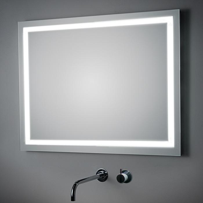 koh i noor t5 spiegel mit beleuchtung umlaufend integriert 100cm br. Black Bedroom Furniture Sets. Home Design Ideas