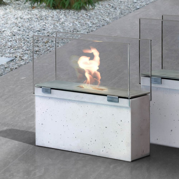 conmoto muro klein in outdoor feuerstelle aus. Black Bedroom Furniture Sets. Home Design Ideas