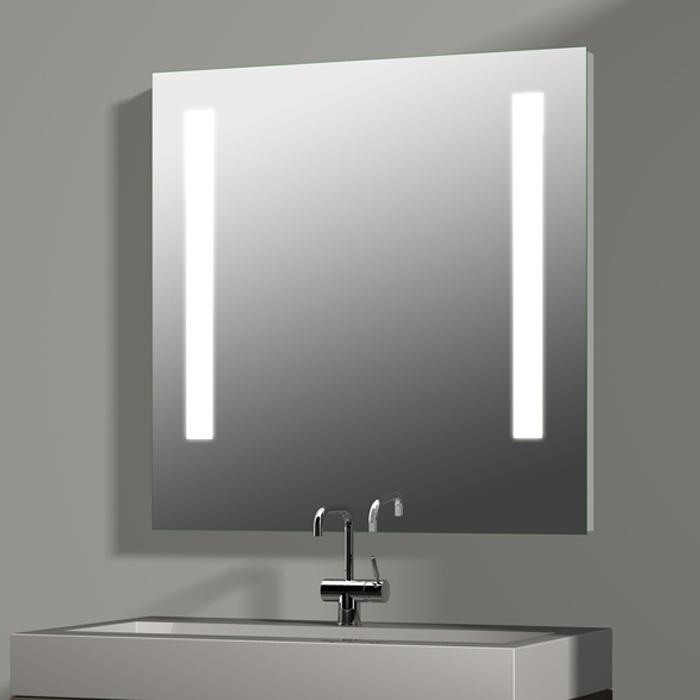 Spiegel Mit Integrierter Beleuchtung treos serie 604 spiegel mit integrierter beleuchtung 80x80cm