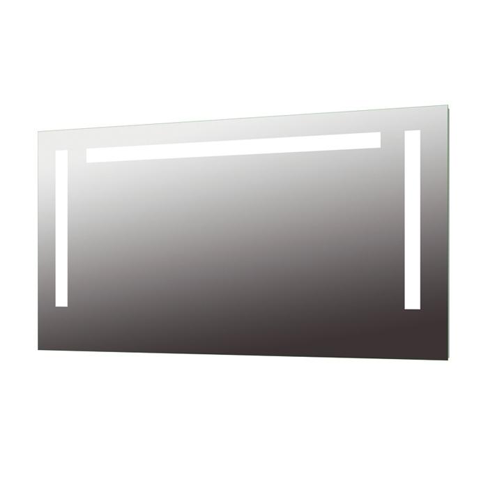 treos serie 604 spiegel mit integrierter beleuchtung 150x80cm. Black Bedroom Furniture Sets. Home Design Ideas