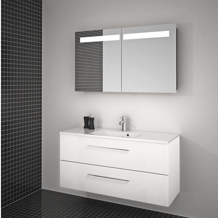 valblue spiegelschrank bari wei pictures to pin on pinterest. Black Bedroom Furniture Sets. Home Design Ideas