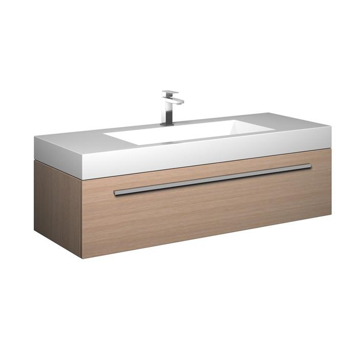 treos serie 900 waschtisch mit einer schublade 119x49x40cm. Black Bedroom Furniture Sets. Home Design Ideas