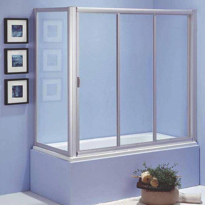 Badewannen Duschwand Glas: Duschabtrennung glas badewanne mit größe ...