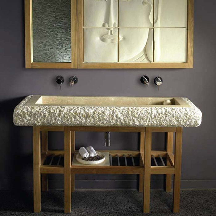 bati coralia serena marmor aufsatz waschbecken 150x50x15cm div f. Black Bedroom Furniture Sets. Home Design Ideas