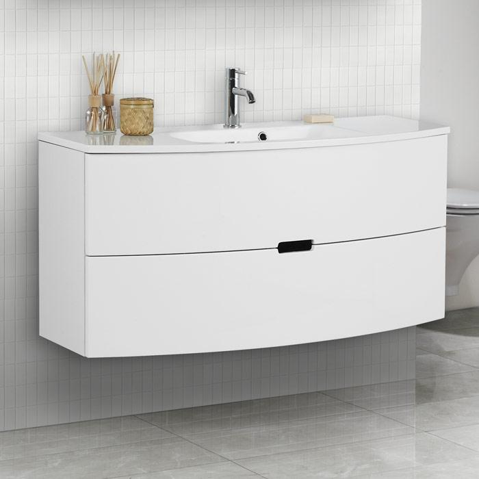 Scanbad Modern Waschtisch Set 120 mit Spiegelschrank | {Spiegelschrank modern 81}