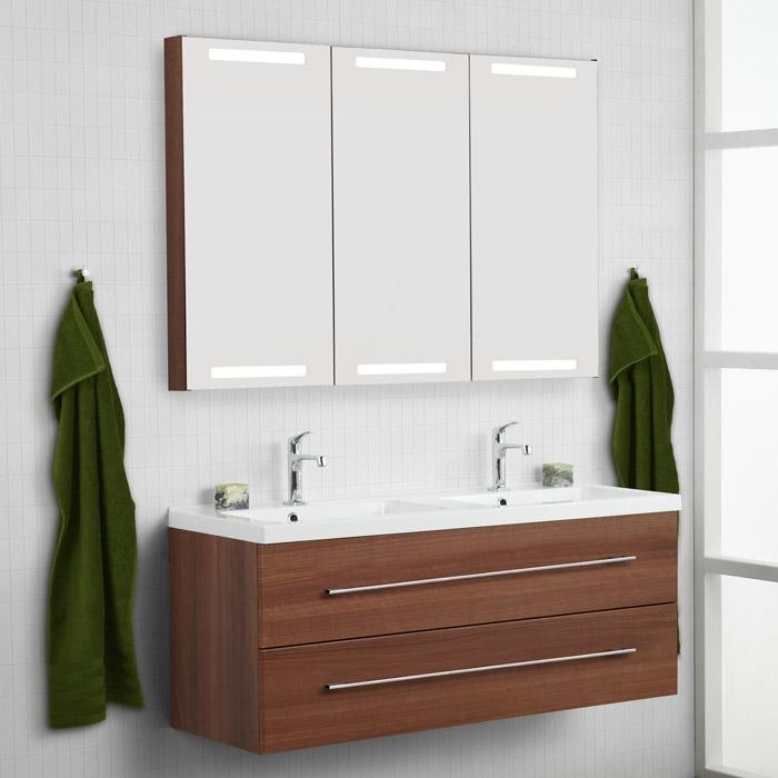 dansani luna aktion 2011 allegro doppel waschtisch set inkl spiege. Black Bedroom Furniture Sets. Home Design Ideas