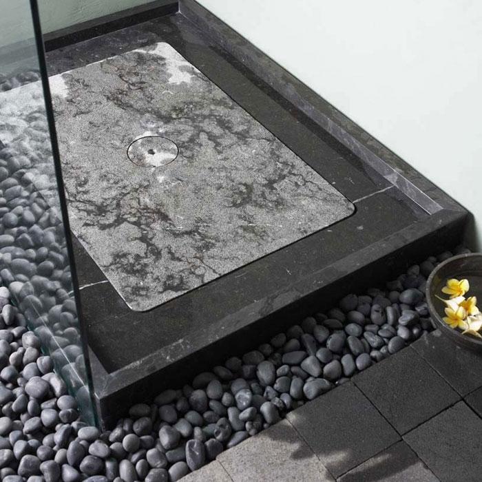 bati petals marmor rechteck duschtasse komplett set 120x90x12cm d. Black Bedroom Furniture Sets. Home Design Ideas