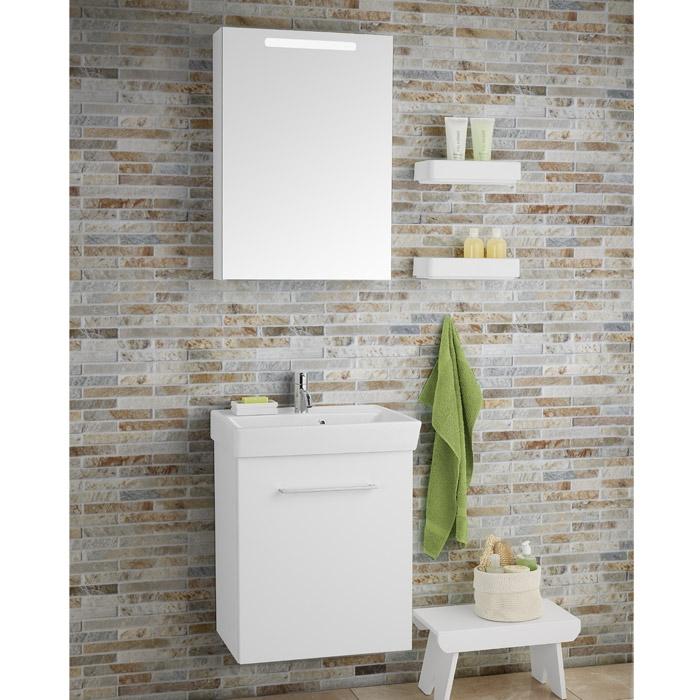 dansani mido waschtisch mit glatter front aufgesetztem griff und ca. Black Bedroom Furniture Sets. Home Design Ideas