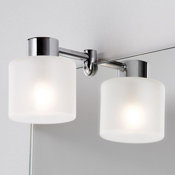 scanbad multo spiegel mit beleuchtung durch aufgesetzte. Black Bedroom Furniture Sets. Home Design Ideas