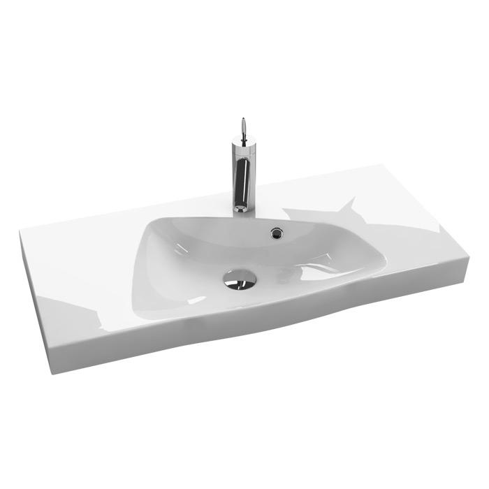 scanbad multo ludo waschtisch set 80 mit spiegelschrank. Black Bedroom Furniture Sets. Home Design Ideas