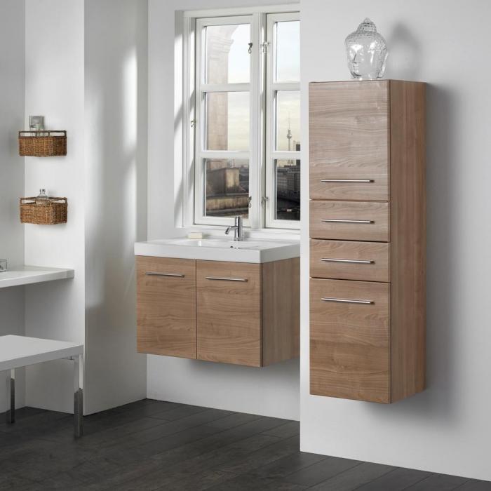 dansani luna hochschrank mit 2 schubladen und 2 t ren. Black Bedroom Furniture Sets. Home Design Ideas
