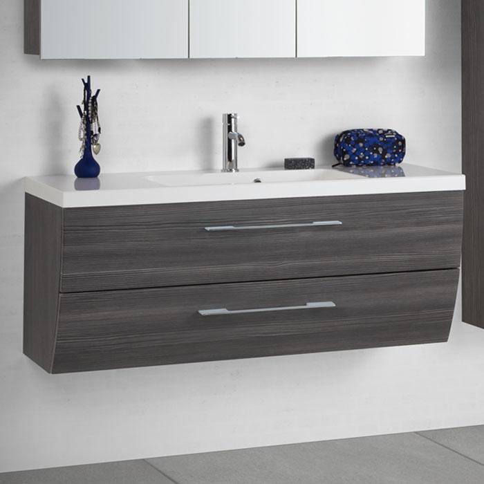 Scanbad Rumba Waschtisch Set 120 mit Spiegelschrank