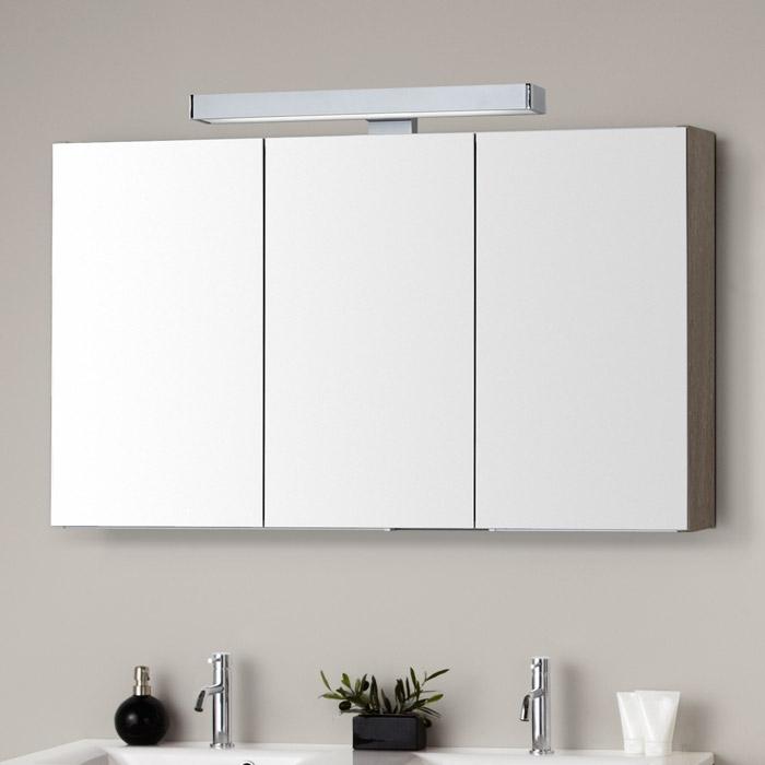 Superb Hervorragend Spiegelschrank 3 Türig Mit Licht   Badezimmer 2016 ZV81 Design
