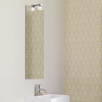 scanbad delta spiegel beheizt mit kubus lampe und sensorschalter 35x8. Black Bedroom Furniture Sets. Home Design Ideas