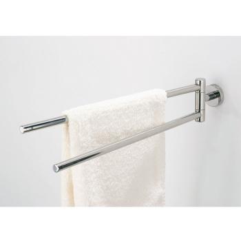 tiger boston handtuch halter 2 teilig schwenkbar edelstahl poliert. Black Bedroom Furniture Sets. Home Design Ideas