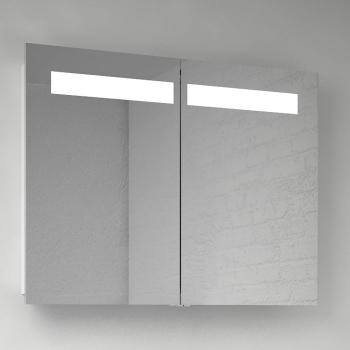 Scanbad multo spiegelschrank mit beleuchtung oben integriert 2 t rig - Scanbad spiegelschrank ...