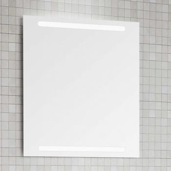 dansani luna zaro spiegel mit waagerechter integrierter beleuchtung. Black Bedroom Furniture Sets. Home Design Ideas