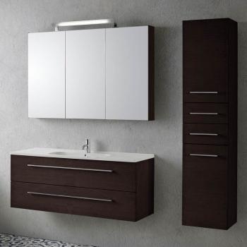 Opdateret Scanbad Delta/Kantate Waschtisch Set 121x45,5xca.51cm QS96