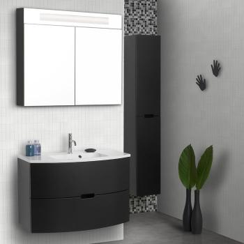 Scanbad modern waschtisch set 90 mit spiegelschrank - Scanbad spiegelschrank ...