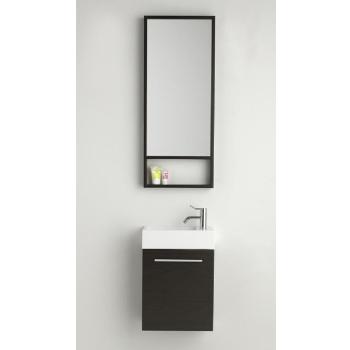 dansani g ste wc waschtisch set inkl spiegel 40x20x48cm. Black Bedroom Furniture Sets. Home Design Ideas